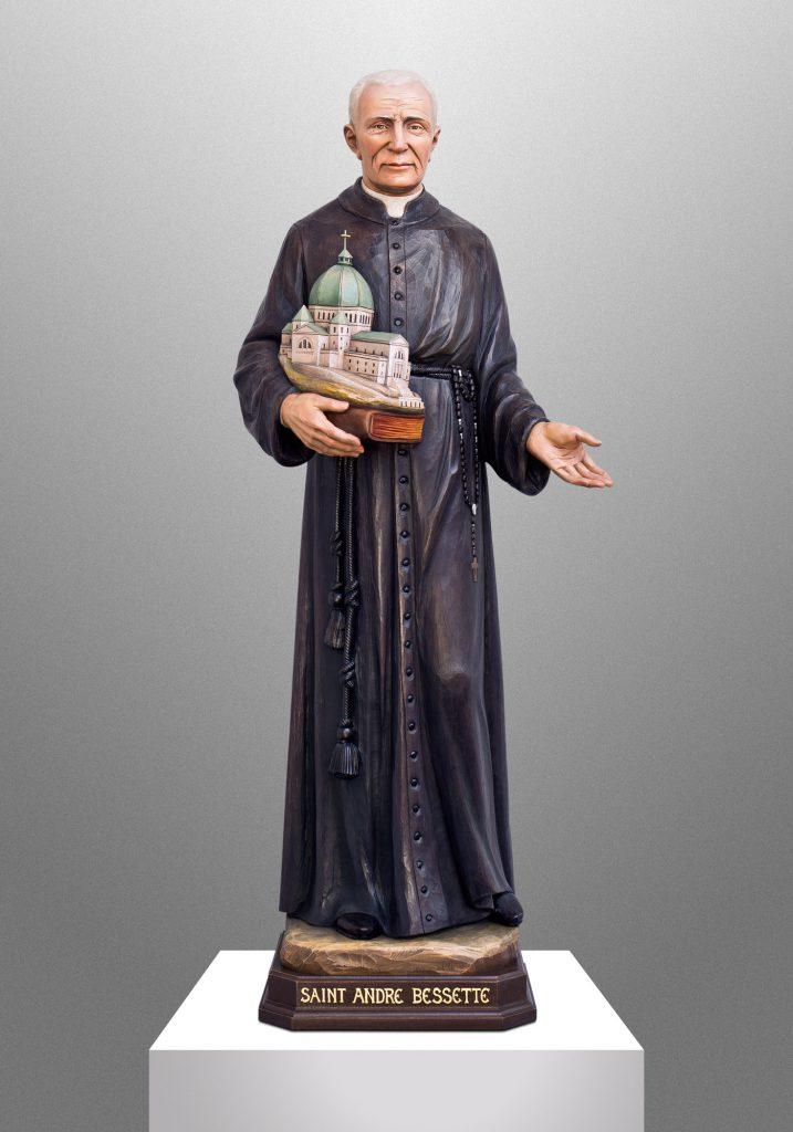 Saint Andre Bessette, St. Pius X Catholic Church in Granger, Indiana (USA). Liturgical Consultant: William Heyer Architect