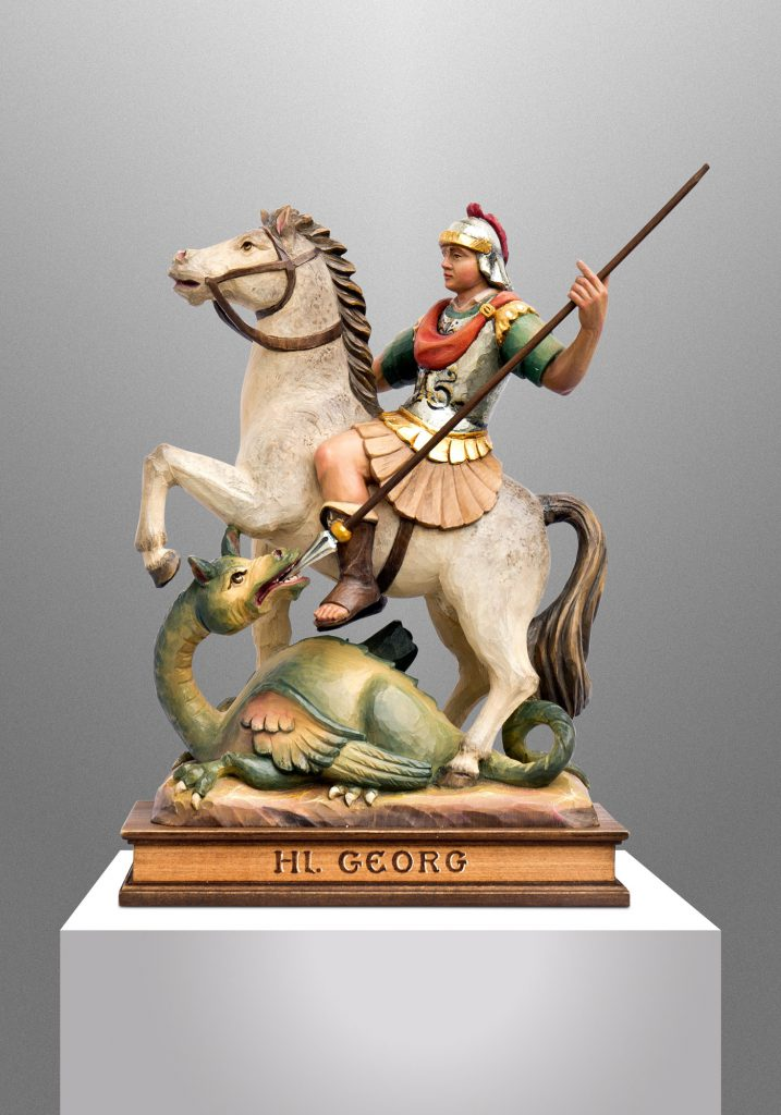 Saint George, Private client in Germany