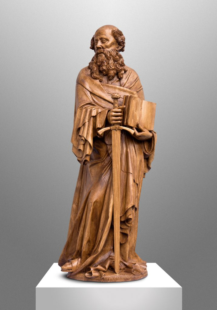 Saint Paul, Saint Francis de Sales Convent Chapel in Washington, D.C. (USA). Liturgical Design: Gardiner Hall Associates