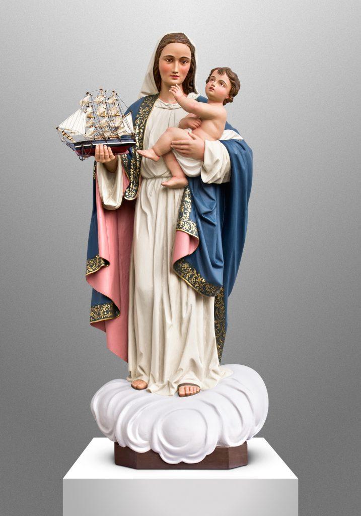 Our Lady of Good Voyage, Our Lady of Good Voyage Catholic Church in Boston, Massachusetts (USA). Architect: Cram & Ferguson Architects