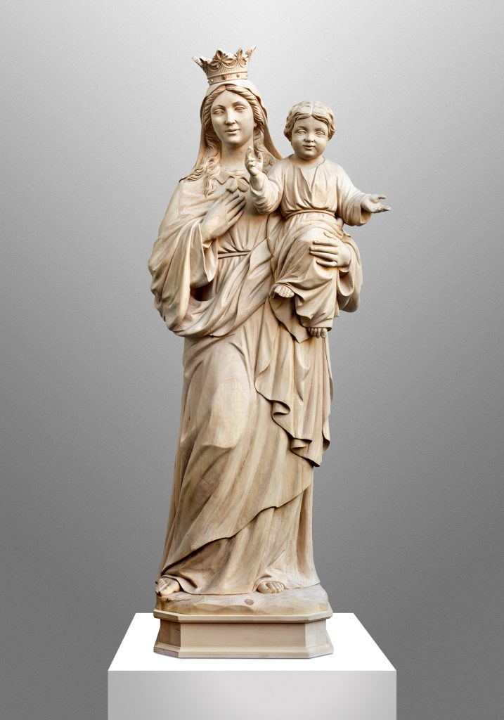 Saint Mary, Blessed Sacrament Church in Newark, Ohio (USA). Liturgical Consultant: William Heyer Architect