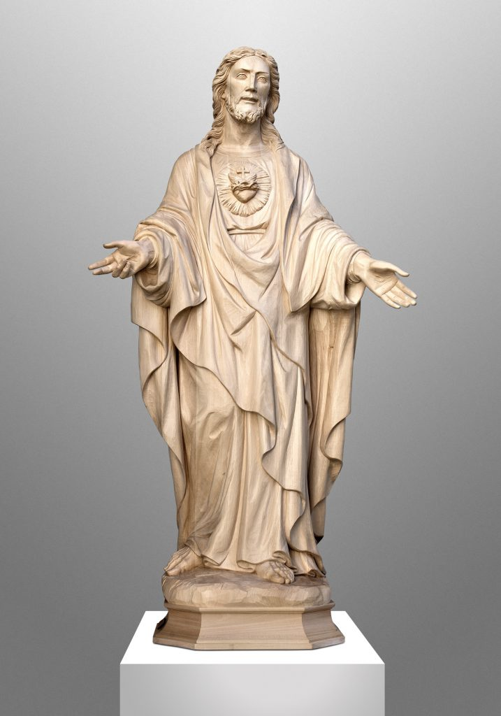 Sacred Heart of Jesus, Sacred Hearts Church in Cardington, Ohio (USA). Liturgical Consultant: William Heyer Architect