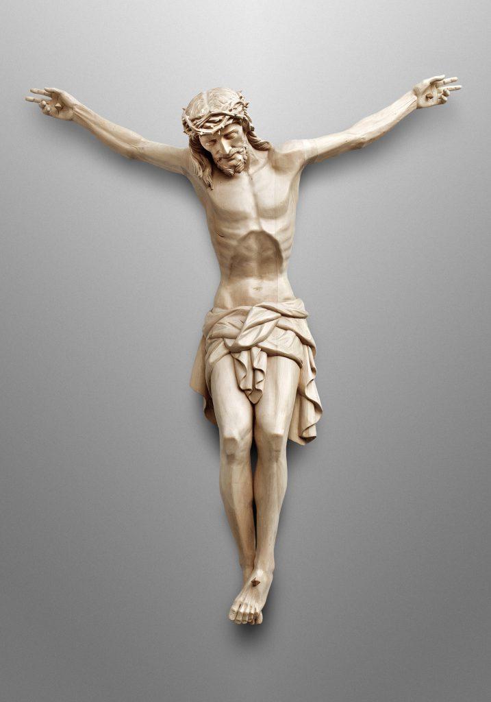 Crucifix, Sacred Hearts Church in Cardington, Ohio (USA). Liturgical Consultant: William Heyer Architect