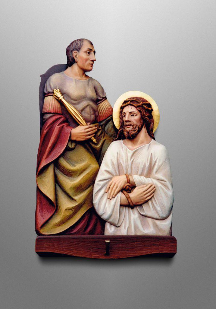 16 Stations of the Cross, Catholic Church in North Carolina (USA)