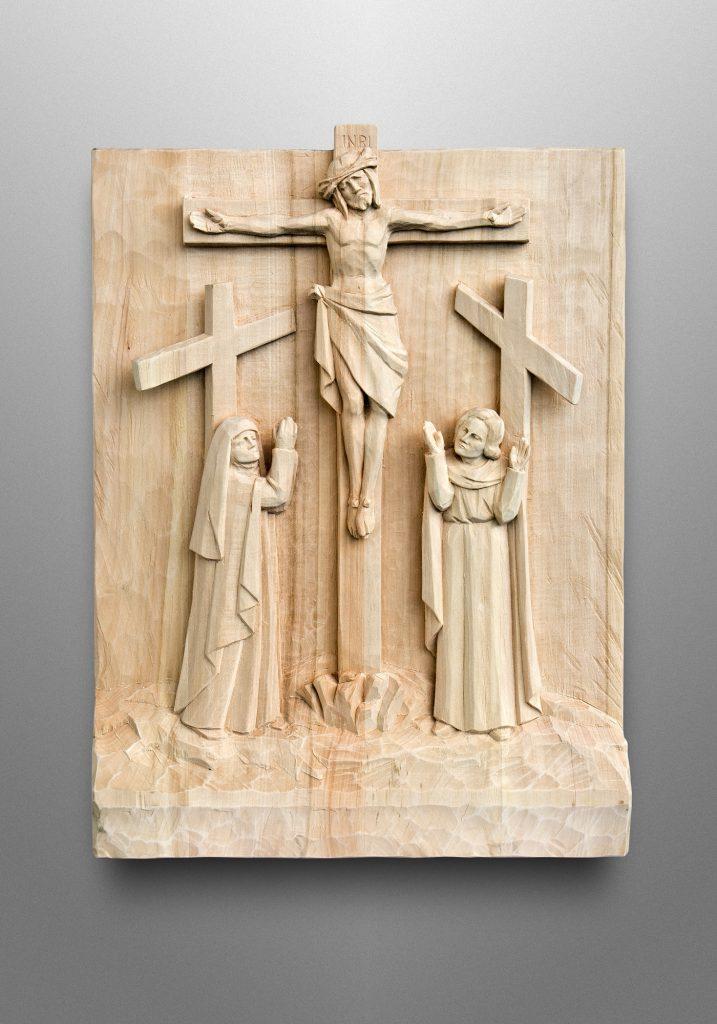 Stations of the Cross, Church of the Nativity in Timonium, Maryland (USA). Liturgical Design: Gardiner Hall Associates