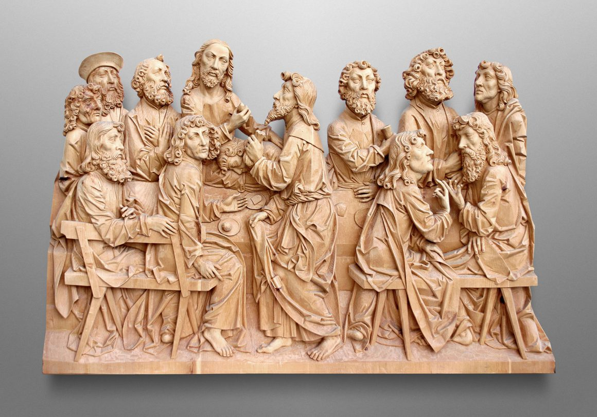 Last supper, Private client in Leinfelden (Germany)