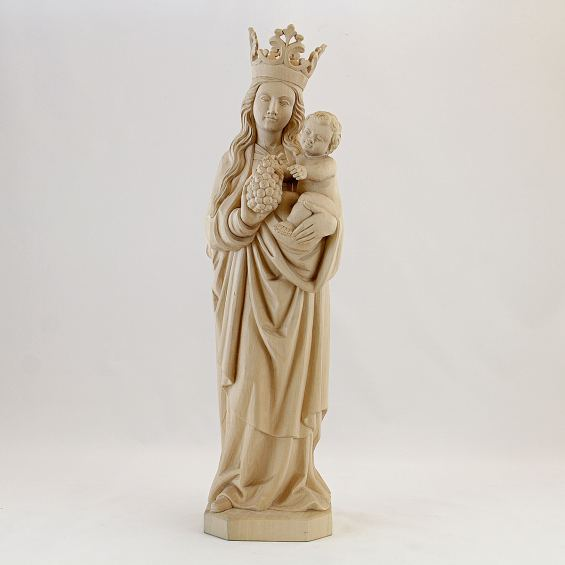 Gothic Madonna with grapes