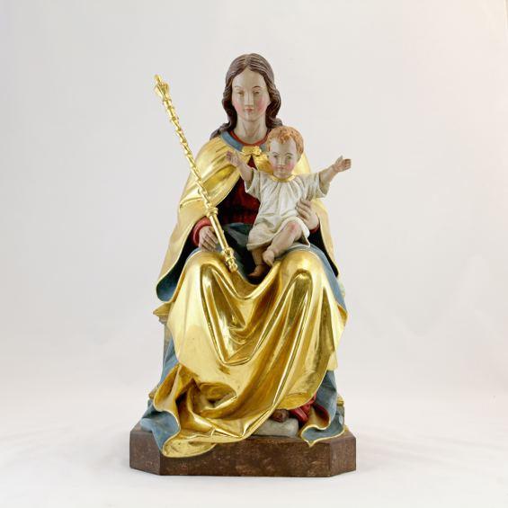 Oberammergau Madonna by Guido Mayr