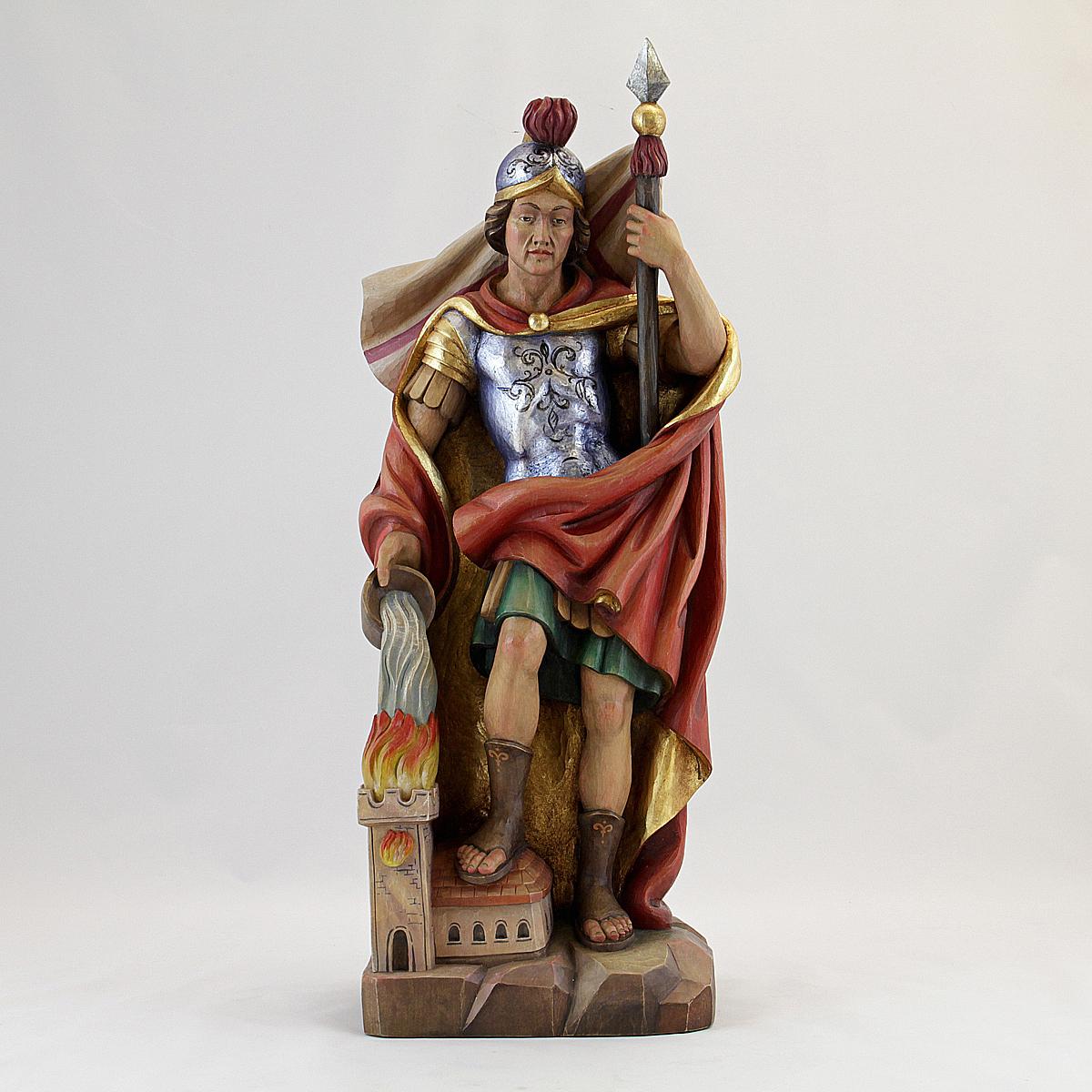 Saint florian albl oberammergau woodcarving studio