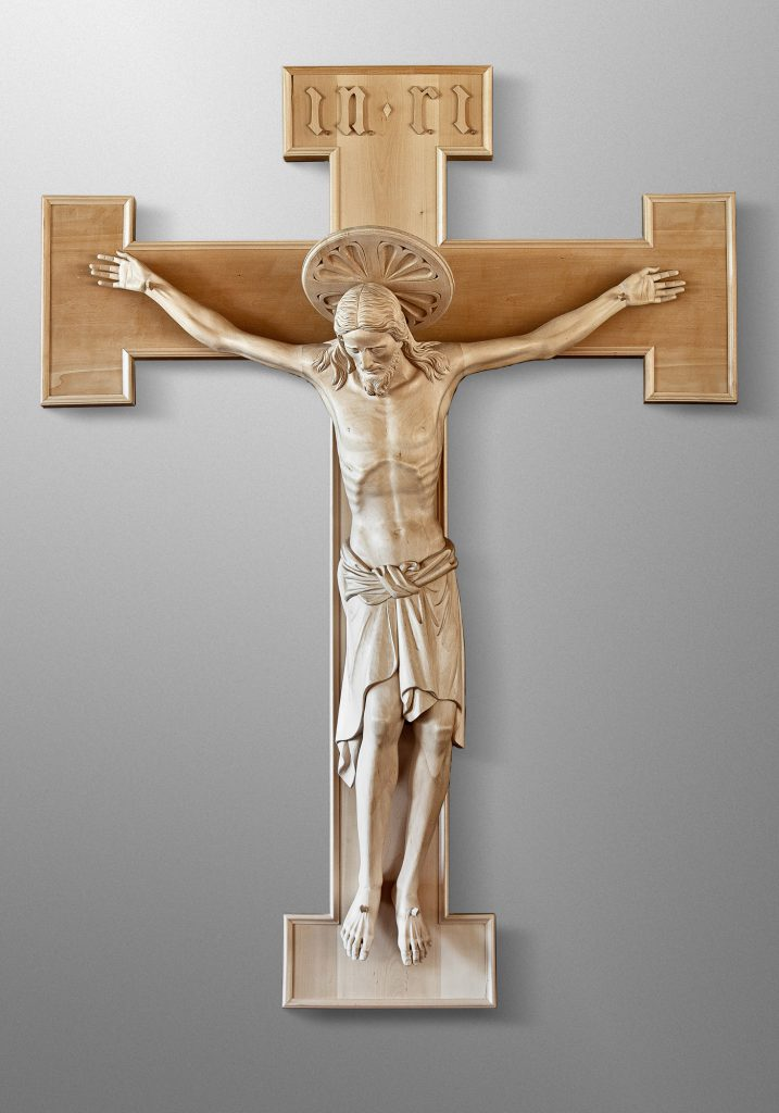 Crucifix, St. Norbert Abbey in De Pere, Wisconsin (USA)