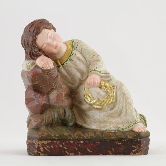 Infant Christ taking a break