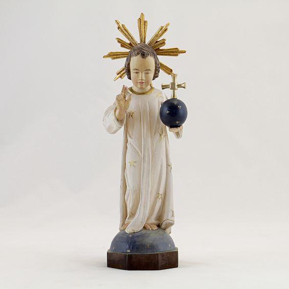 Jesuskind mit Weltkugel