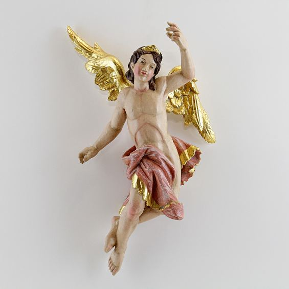Rococo annunciation angel