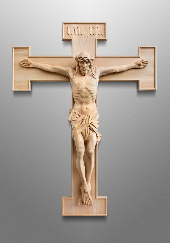 Kruzifix, Katholische Kirche in Bethesda, Maryland (USA)