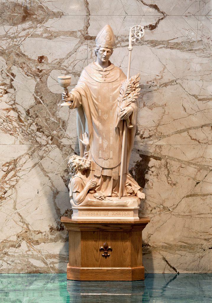 St. Norbert of Xanten, St. Norbert Abbey in De Pere, Wisconsin (USA)