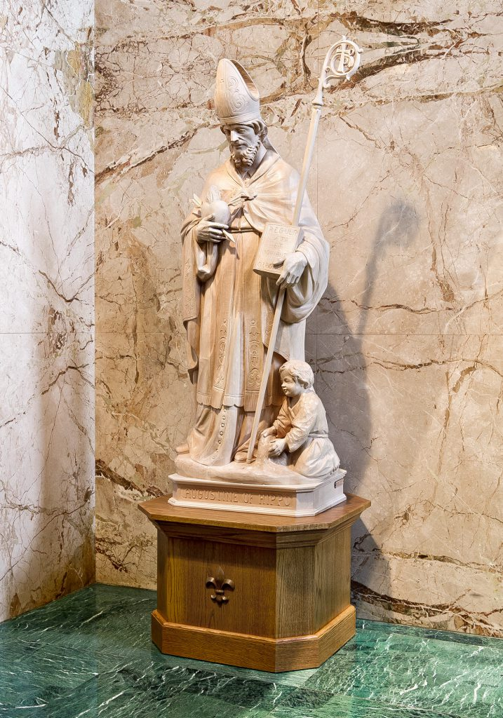 St. Augustine of Hippo, St. Norbert Abbey Church in De Pere, Wisconsin (USA)