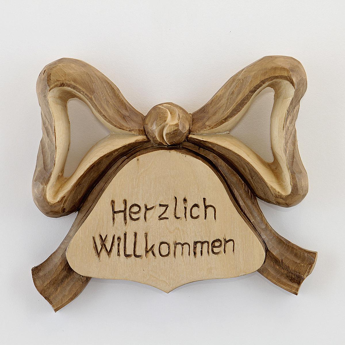 herzlich willkommen schild holzschnitzerei albl oberammergau. Black Bedroom Furniture Sets. Home Design Ideas