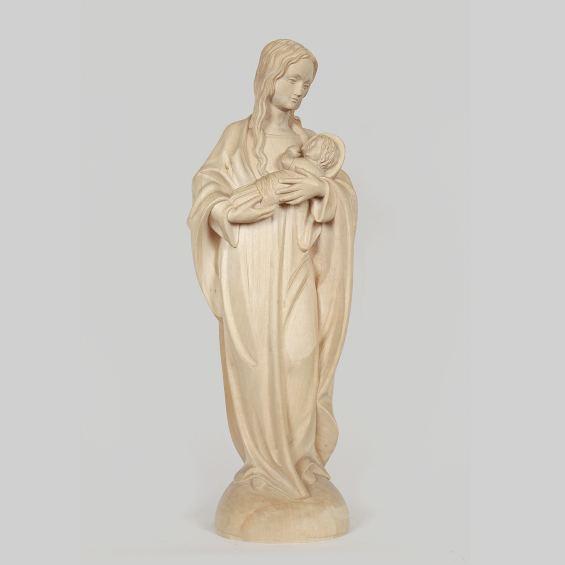 Madonna mit Jesuskind und Heiligenschein