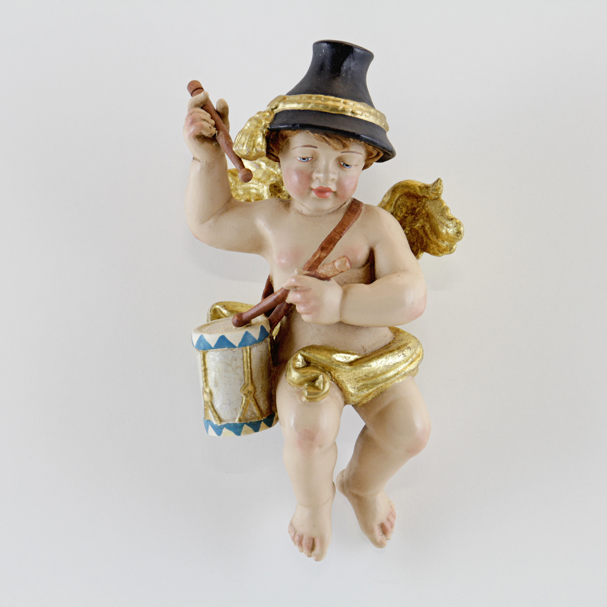 Home interior angel figurines bavarian angel with crossbow Eba home interior figurines
