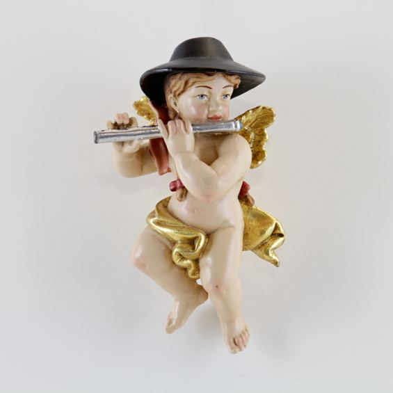 Bayerischer Engel mit Querflöte