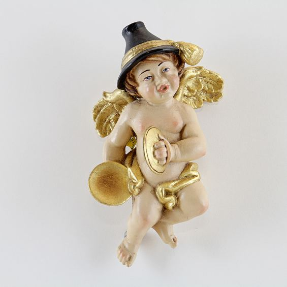Bavarian angel with Cymbal