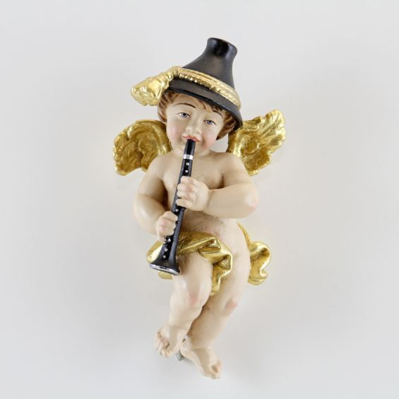 Bavarian angel with clarinet