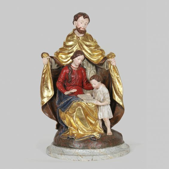 Holy family - Jesus reading