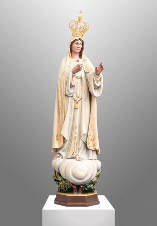 Commissioned statue of our Lady of Fatima