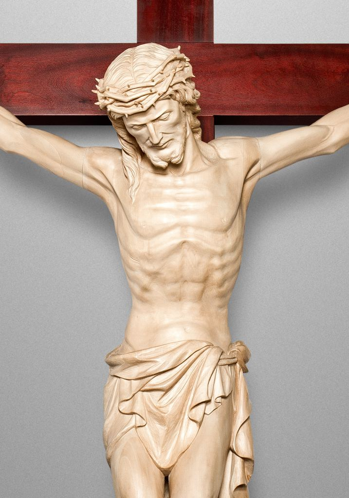 Crucifix, Aquinas College Chapel in Grand Rapids, Michigan (USA). Architectural & Liturgical Designer: JNKA Architects
