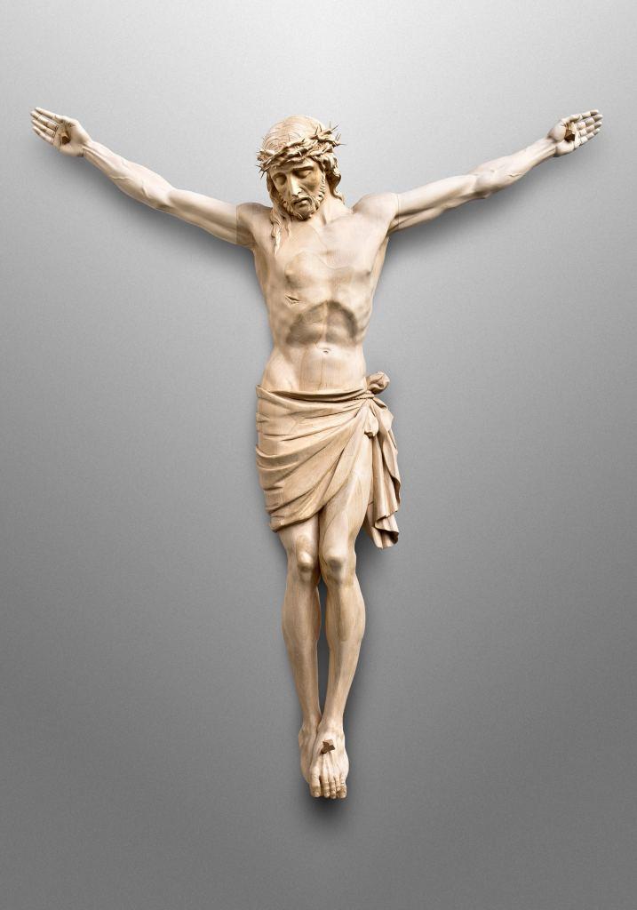 Crucifix, Trinity Lutheran Church in Elkhart, Indiana (USA)