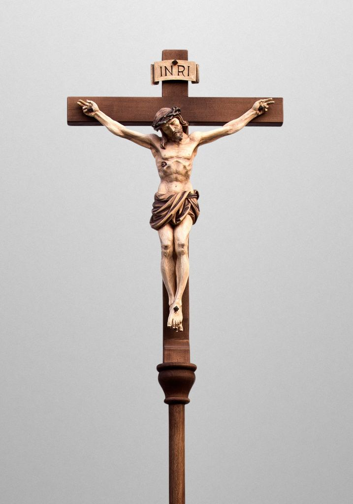 Processional cross, Saint Stephen Catholic Church in Riverview, Florida (USA). Architect: Rick Swisher