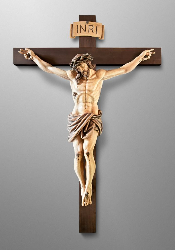 Crucifix, Saint Stephen Catholic Church in Riverview, Florida (USA). Architect: Rick Swisher