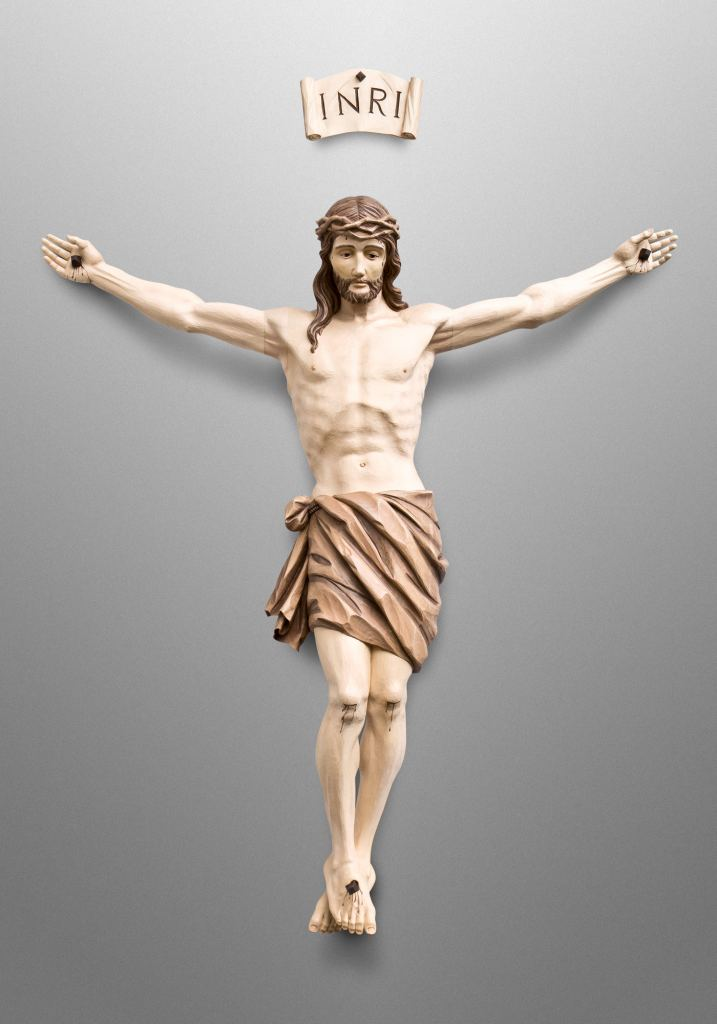 Crucifix, St. Rose Catholic Church, St. Rose, Illinois (USA)
