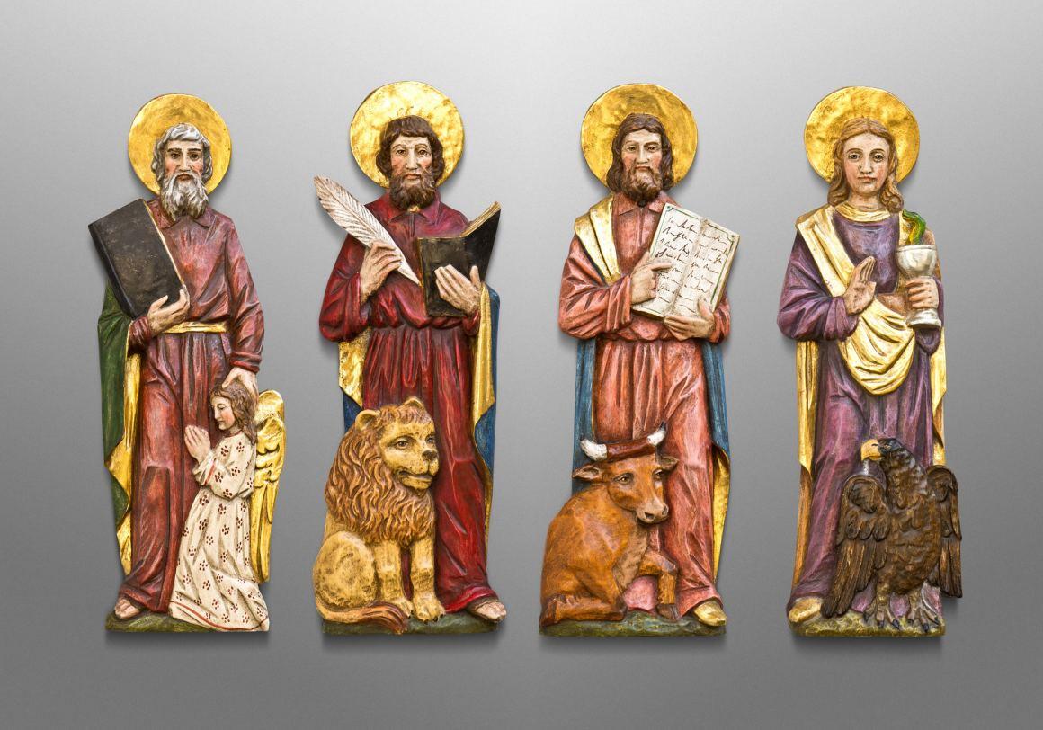 The Four Evangelists, Mother of God Catholic Church in Oswego, Kansas USA