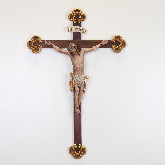 Divine Mercy Corpus - with baroque cross