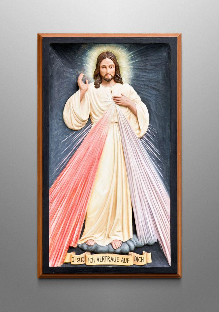 Gnadenbild vom Barmherzigen Jesus, Privatkunde in Deutschland