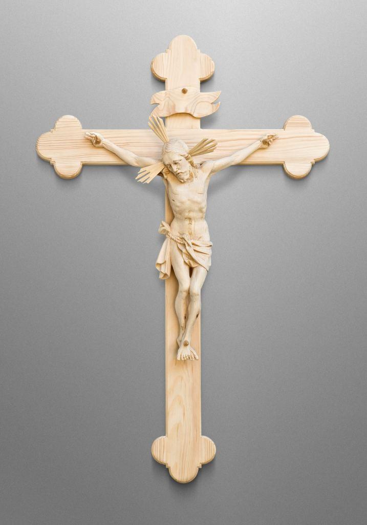 Crucifix, Mother of Mercy Catholic Church in Washington, North Carolina (USA)
