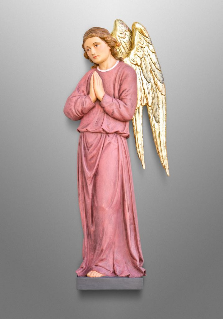 Altar angels in adoration, St. Stephen the Martyr Catholic Church in Middleburg, VA. Liturgical Design: Gardiner Hall Associates