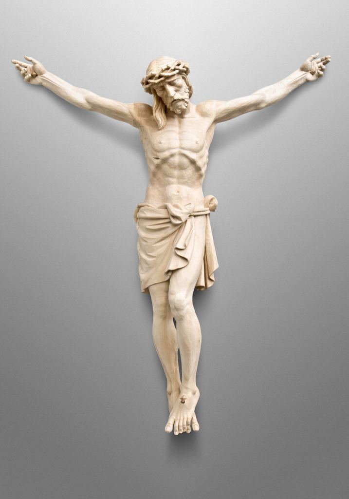 Crucifix, St. Thomas More Catholic Church in Darien, CT (USA). Collaboration with Canning Liturgical Arts