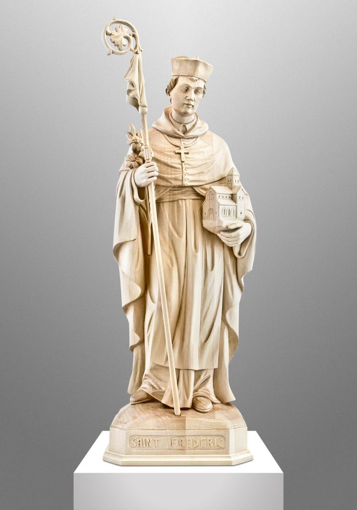 Saint Frederic, St. Norbert Abbey in De Pere, Wisconsin (USA)