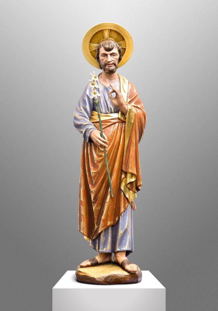 Byzantine style St. Joseph for a Private Chapel in California (USA)
