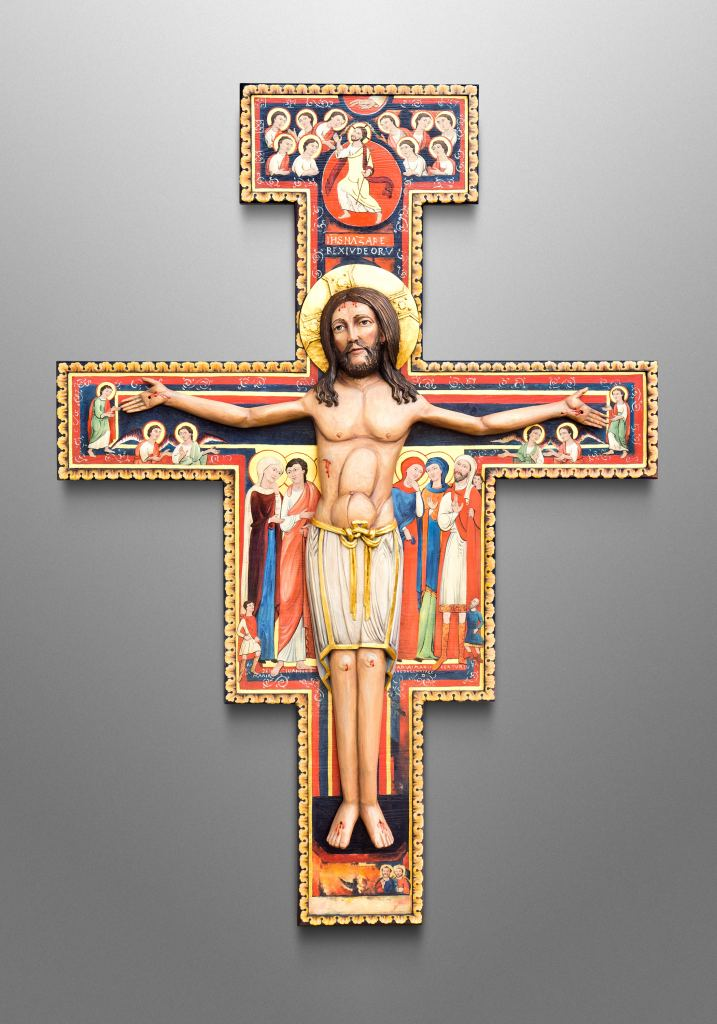 San Damiano Crucifix for exhibition in our Oberammergau art gallery