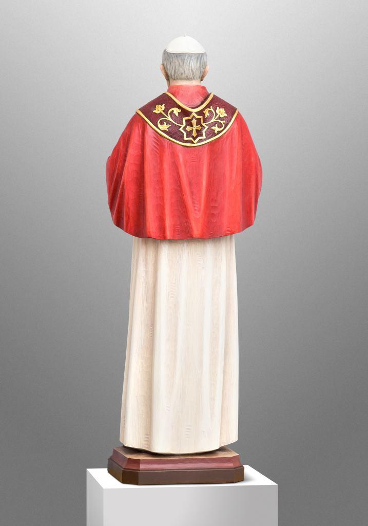 Pope St. John Paul II for St. John Paul II Catholic Church in Denton, Texas (USA); Ecclesiastical Design: Gardiner Hall Associates