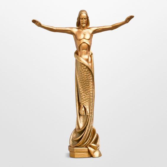 Resurrection Jesus modern statue