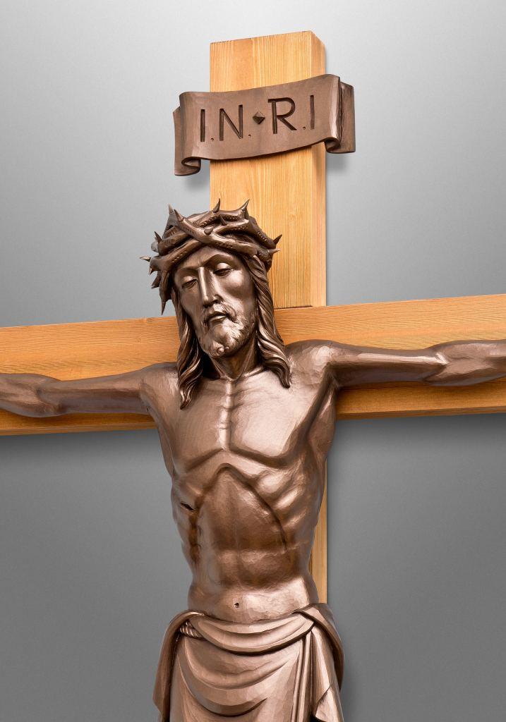Kruzifix für die St. Peter Universitäts-Kapelle in Grafton, Auckland (Neuseeland)