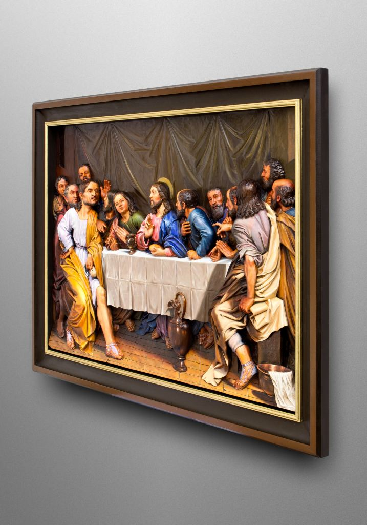 Das letzte Abendmahl, inspiriert vom berühmten Barockgemälde von Philippe de Champaigne