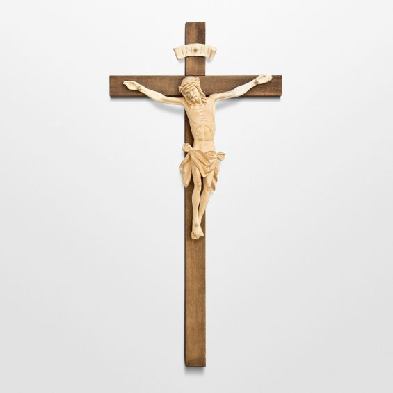 Divine Mercy Crucifix - with simple cross
