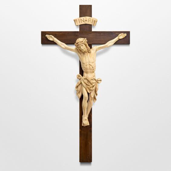 Christus der göttlichen Barmherzigkeit - mit schlichtem Kreuz
