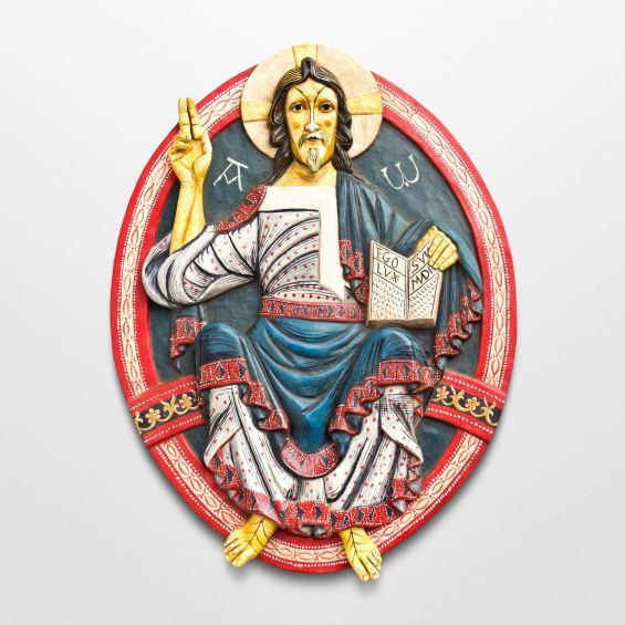Christ Pantocrator Relief