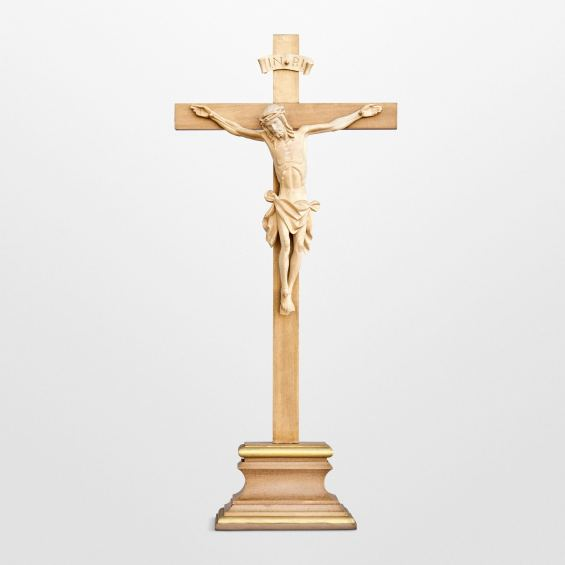 Standing cross with simple cross